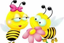 **Art: Buzzing Bees ** / Welcome to Buzzing Bees!!  Pin your favorite bee clip art!!  Please, no spam or inappropriate content!!  Thanks for joining!!   / by MomBHM