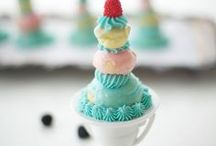 Dessert Ideas YUMMY & PRETTY! / Delicious dessert ideas that also LOOK AMAZING for your next party or event. If you'd like to join this board,  pls send an email to: mail@indulgewithmimi.com Please post only delicious and PRETTY looking treats. no spam or links to products.