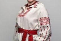 Slavic Clothes / Historic and modern Slavic Clothes