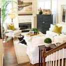 Adding Whimsy & Comfort | Kathy Ann Abell Interiors / Most of our clients come to us with dreams of a cozy space where they can kick up their feet and relax...where guests feel comfortable and entertaining flows naturally. However, when you are limited on space, it can be hard to find the balance between cozy and cluttered. We have a few tricks we like to use when designing smaller spaces.