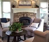Modern Farmhouse | Kathy Ann Abell Interiors / This Modern Farmhouse belongs to a lovely couple and their growing family. When they purchased the house, theyknew that although they loved it'scozy feel, it needed some love! Making the house cohesive was the first step. After selecting the perfect gray paint and bright white molding, sub-contractors went to work making each room feel like it seamlessly matched the next. Pictures just don't do this bright and cozy home justice! We are so excited for you too see!