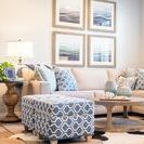 A Sea of Blue | Kathy Ann Abell Interiors / Designing your own home is not easy. Something about designing your own space changes the game. It's honestly the most common call we get. A client knows what they want, they've done their research, perhaps purchased a sofa or just added a fresh coat of paint. But now they are stuck and that's where we come in! We take their loves and their dislikes, the ideas they've been mulling over and create the look that they've wanted all along. This client was just that!