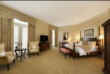 Guestrooms at Keswick Hall / Each one of the Hall's 48 rooms and suites, including three Master Suites are designed with exquisite fabrics and furnishings providing our guests with a relaxed and tranquil environment - a retreat where guests feel pampered and renewed.