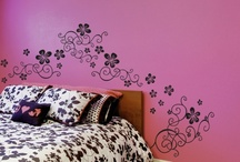 Girls Inspirations Wall Art / Spice up your baby girls room with these adorable wall decals.  http://www.babyboodecor.com/girls-decor/