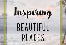 Inspiring Beautiful Places / Beautiful Holiday Destinations - Plus Plenty of Breathtakingly Gorgeous Places and Photos That Will Motivate And Inspire Anyone Wishing To Live A More Inspiring Life