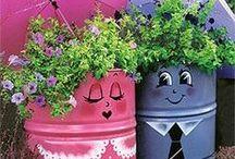 Gardening / Decor For Gardens, Gardens, Garden Furniture, Garden Paths, etc / by Elmien Koen