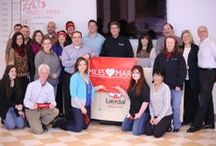 Laerdal Team / The faces behind 'helping save lives'.