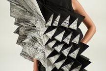 Mode sculpturale / Sculptural fashion