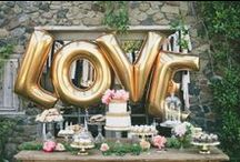 Wedding Decor / Decorations & details for and from weddings.