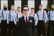 Real Grooms + Groomsmen  - NWB / Real Grooms featured on NWB