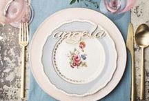 Tablescapes + Decor / Stylish tablescapes, decor & details.