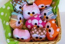 DIY krammedyr og puder / Sjove og søde ideer til når man er i det kreative hjørne :-)