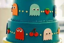 Sjove kager og pyntefigurer til kager / Inspiration og tips til både øvede og nybegyndere :-)