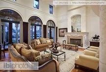 Transitional Room Scenes / Eclectic styles