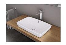Umywalki nablatowe / Ciekawe umywali nablatowe do wykorzystania w nowoczesnych łazienkach.