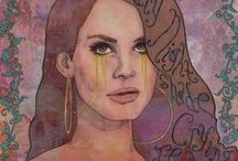 Lana Del Rey / Deadly Nightshade Crying Tears Of Gold