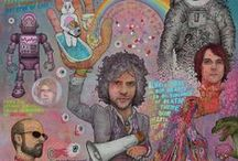 The Flaming Lips / Always There In Our HeartsThere Is Fear Of Slippery Brains, Electric Toasters, Evil Natured Robots From Outer Space And Drugs