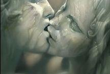 great love / Liefdeskoppels: amor and psyche, cupido en venus, orpheus en euridice