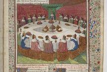 Round table, Arthur, Grail, Lancelot, guinevere,