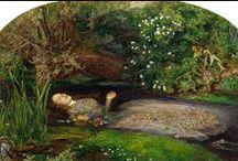 Pre-Rafaelieten/ Brotherhood of pre Raphaelites / William H. Hunt 1827-1910 Sir Johm Millais 1829-1896 Dante Gabriel Rosetti 1828-1882