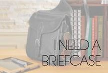 Briefcases & Messenger Bags / Stylish men's briefcases and messenger bags - coming soon to StarShop!