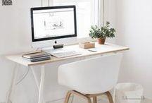 | desk | / borderline ocd organisational but still good looking desk ideas.