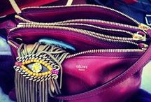| accessories | / ...handbags and jewelry and all these blingy things...