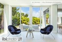 Modern Tropical Serenity / Featured in paradise, South Florida, this property presents a modern feel with a zen that energizes throughout the home.
