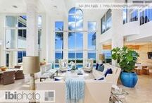 Nautical Gulfstream Retreat / A magnificent contemporary home with oceanic accents compliment breathtaking seascape with direct beach access.