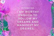 affirmations.