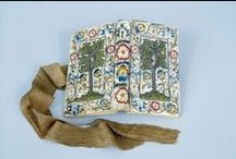 Embroidered books ...