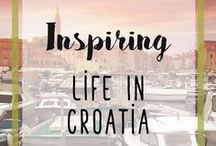 """Inspiring Life In Croatia / Korcula Croatia is my home away from home - my motherland. Read all about my """"living in Croatia"""" experiences and see my inspiration (its beauty is truly breathtaking!)"""