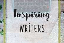 Inspiring Writers / Are you a writer looking for inspiration? Here you will find the best inspiring and motivational quotes and tips for writers.