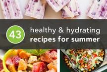 {eat seasonally} / Seasonal produce and superfoods