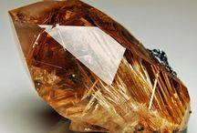 # Gemstones # Cristais de rocha / Cristais de rocha, jade, turmalinas, ametistas e etc... / by Luci Busnardo 1