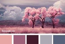 # Color Palettes #  Paletas de Cores / Sinfonia de cores para desenhar e pintar! / by Luci Busnardo 1
