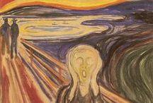 Expressionismo / O Expressionismo é um movimento artístico e cultural surgido em 1905 em Dresden, na Alemanha, que realça a experiência subjetiva, procurando expressar as emoções humanas. Caracteriza-se por usar cores violentas, formas expressivas não realistas e por pinceladas opostas à perspectiva tridimensional.