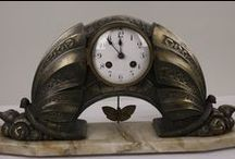 Art Nouveau clocks / Art Nouveau clocks