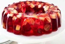 gelatinas y postres rapidos / Dulcuras