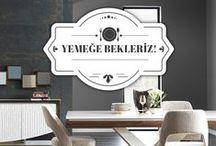 Yemeğe Bekleriz! / Bu şık tasarımlar ve dekorasyon önerileri, önce gözünü doyurmak isteyenlere. Yemek odalarınızı süsleyecek en ünlü tablolar ve tasarım harikası Nill's Furniture Design yemek odaları bu panoda. Tavsiyeler bizden, kombin yapması sizden! :)