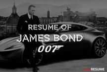 Famous Infographic Resumes (Movie characters, Celebrities or Historical figures) / Ever wonder what the Homer Simpson's or James Bond's resume would look like? What about Darth Vader? Satisfy your curiosity and check our collection of famous resumes!