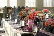 Wedding Tablescapes Ideas / www.lilyandtherose.com