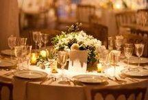 Wedding Centerpiece Ideas / www.lilyandtherose.com