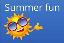 Things to do in the summer with kids / Ideas for things to do with the children over the summer holidays. Days out, places to go, activities, craft, free, cheap and fun things to do.