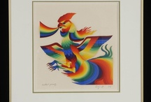 Lithographs / Lithograph Art by Contemporary International Artists. Some Lithograph art is hand painted. The Artist are from France, Italy, Spain, Yugoslavia, America, China, Japan, of the 18Th-19Th Century  Some are Suites of 2 to 6 Lithographs. Some are framed. Some Lithographs are black and white, some are in several colors  All the Artists had several One Man Shows in Galleries throughout Europe, U.S.A or other Countries. Their works are in private Collections and Museums.