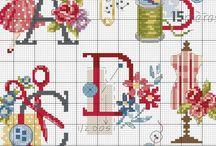 Cross stitch / by Jessy Maalouf
