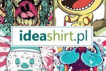 Wzory do drukowania na koszulkach / Na IdeaShirt.pl wiele nowych wzorów, większość rodem i Tshirt Factory. Zobaczcie sami - najwyższej jakości grafiki i modny styl.