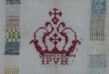 Samplers & Buttons Blogspot / Samplers & Smalls - My Needlework