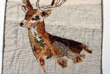 Textile Art by Mandy Pattullo / Creative with fabrics and embroidery.