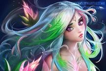 Elves Fairies Angels Demons and the like